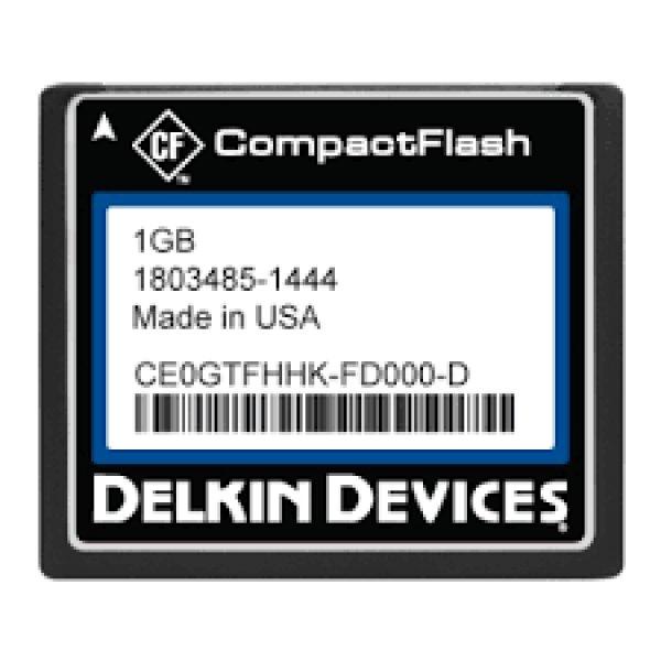 画像1: 1GB CF (SLC) Industrial Ext Temp DMA-ON Removable RoHS Tekta coating (1)