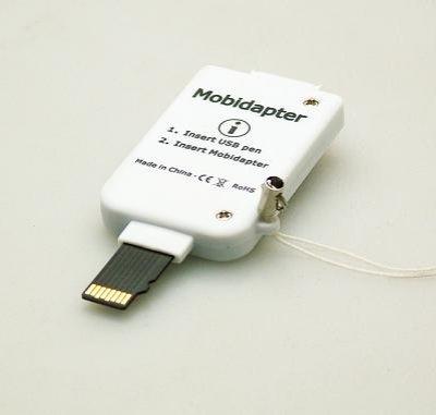 画像2: モビダプター USBメモリー⇒microSD変換アダプタ [SDMB1000]